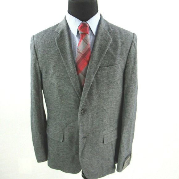 Banana Republic Slim Fit Gray Cotton Sport Coat